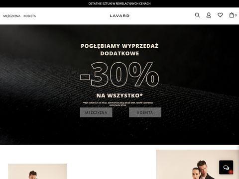 Lavard internetowy sklep z modą męską