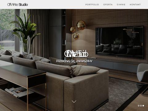Offwhitestudio.pl projektowanie mieszkań