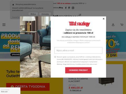 Outletmeblowy.pl stoły do jadalni