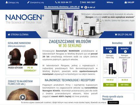 Nanogen.pl - gęste włosy w 30 sekund