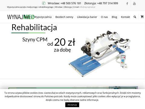 Wynajmed.pl tlenoterapia Poznań