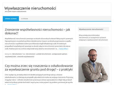 Wywlaszczenie-nieruchomosci.pl - blog