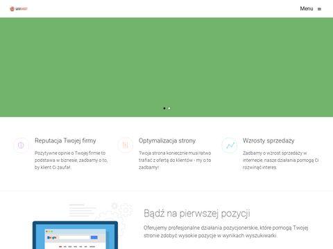 Webshoot - pozycjonowanie stron