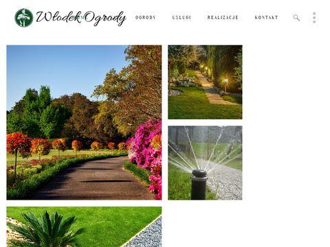 Wlodekogrody.pl pielęgnacja ogrodów