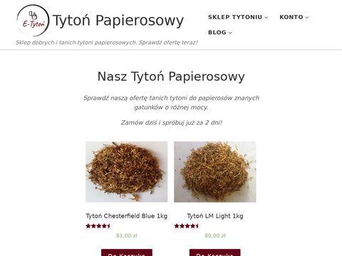 Tytonpapierosowy.pl sklep