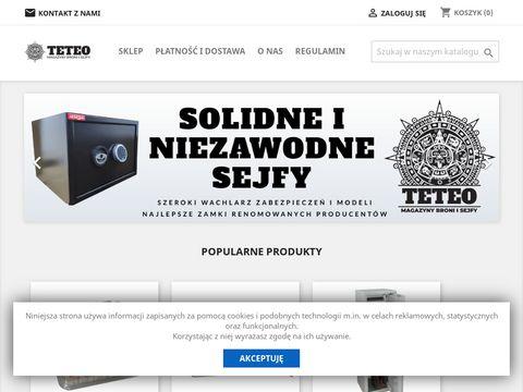 Teteo.pl szafy na broń, szafa pancerna