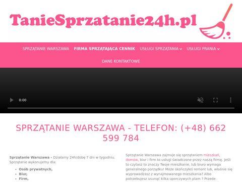 Taniesprzatanie24h.pl Warszawa
