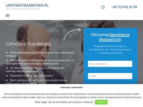Umowafrankowa.pl - odfrankuj swój kredyt