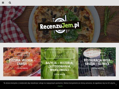 RecenzuJem.pl - sprawdzamy śląskie restauracje