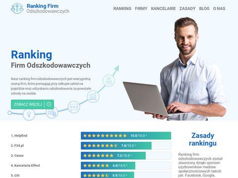 Rankingfirmodszkodwawczych.pl opinie