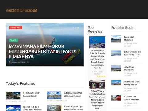 RadarOpadow.live - deszcz online