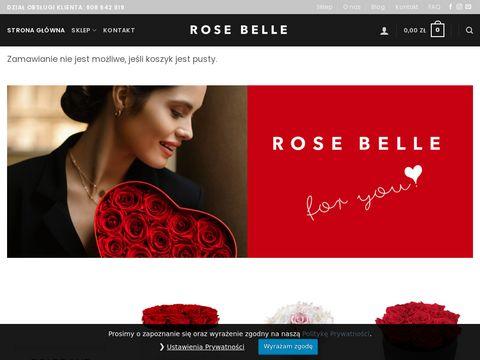 Rosebelle.pl sklep - wieczne kwiaty