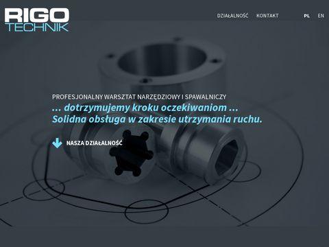Rigotechnik - usługi CNC