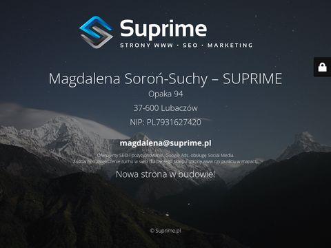 Suprime.pl - agencja SEO Rzeszów