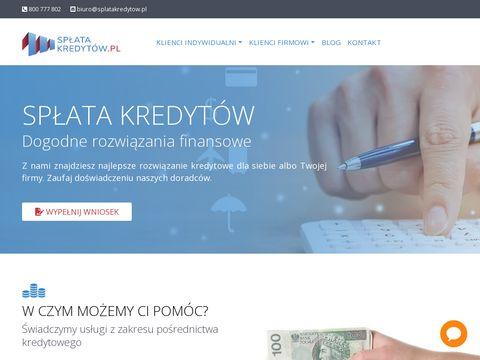 Splatakredytow.pl splać swoje kredyty teraz