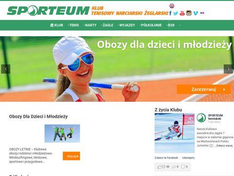Sporteum.pl tenis mazowieckie