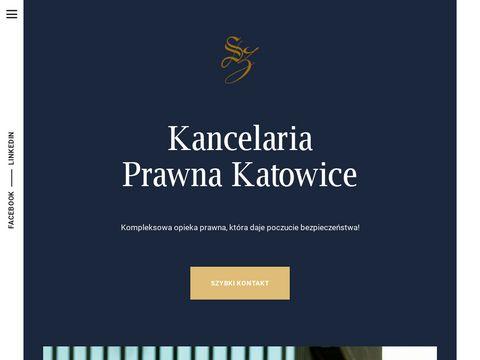 Szaflarscy.pl kancelaria radców prawnych Katowice