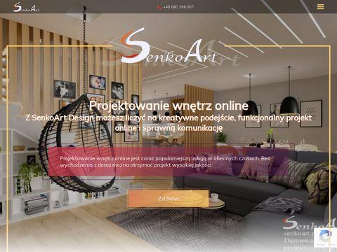 Senkoart Design - projektowanie wnętrz online