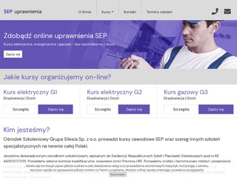Sep-on-line.pl - uprawienia sepowskie
