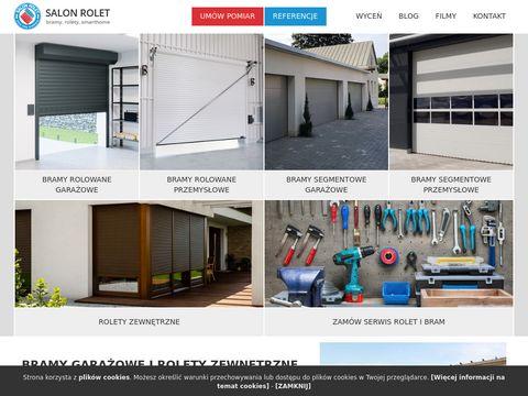 Salonrolet.pl bramy garażowe, serwis bram