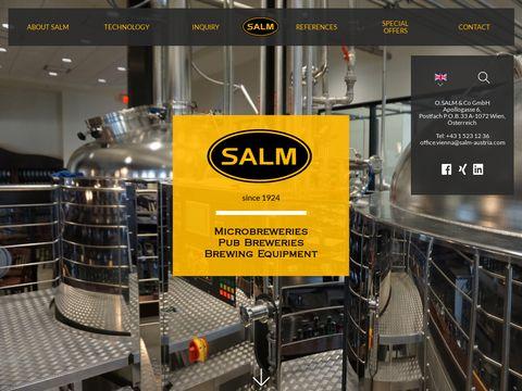 Salm - producent piwa i wyposażenie browaru