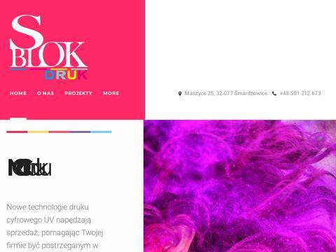 Sblokdruk.com wielkoformatowy Kraków