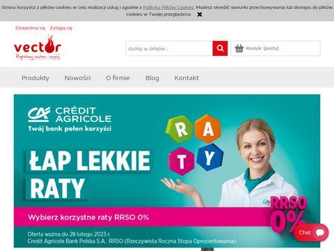 Vector sklep internetowy kominki