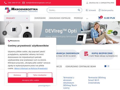 Sklep.mikroenergetyka.com.pl ogrzewanie