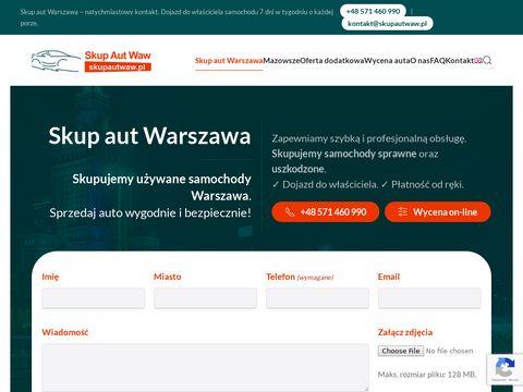 Skupautwaw.pl - używane samochody za gotówkę