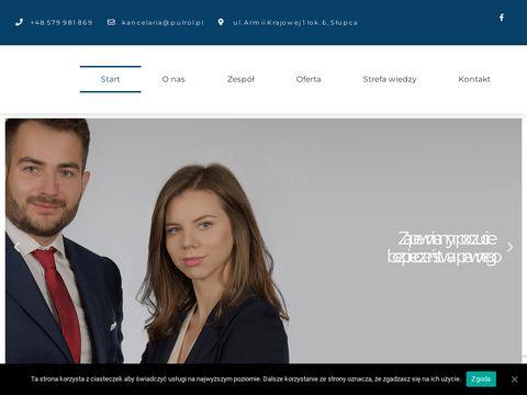 Pułrół kancelaria prawna - radca prawny