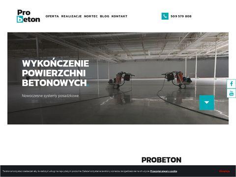 Probeton - polerowanie betonu i naprawa dylatacji