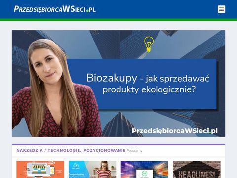Przedsiebiorcawsieci.pl - marketing automation