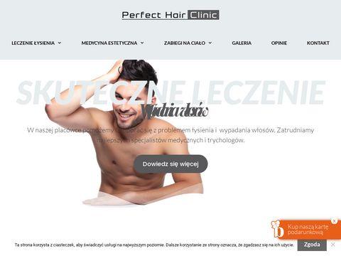 Perfecthairclinic.pl trycholog Katowice