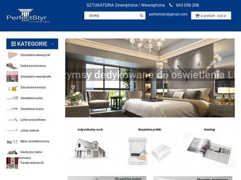 Perfectstyr.pl - sztukateria elewacyjna