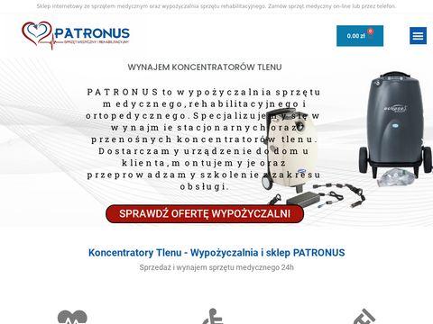 Sklep medyczny Patronus - wypożyczalnia
