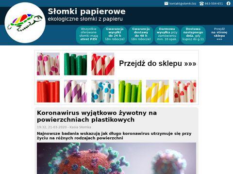 Papierowe.slomki.biz ekologiczne