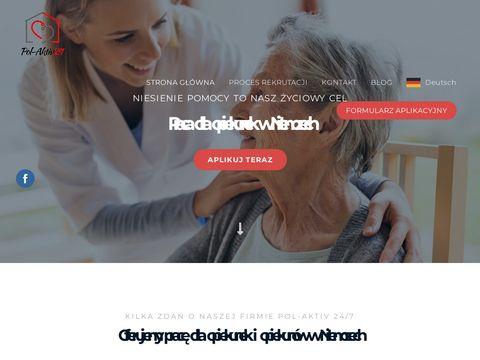 Polaktiv24.pl praca dla opiekunek i opiekunów