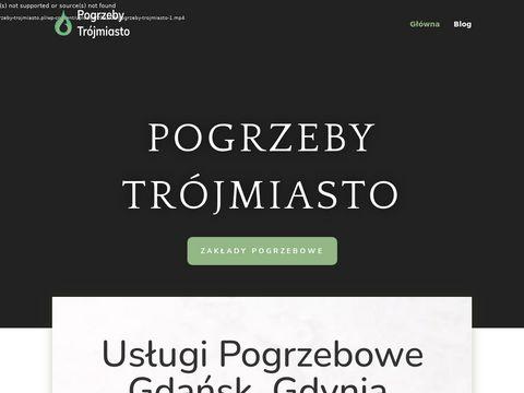 Pogrzeby-trojmiasto.pl zakłady pogrzebowe