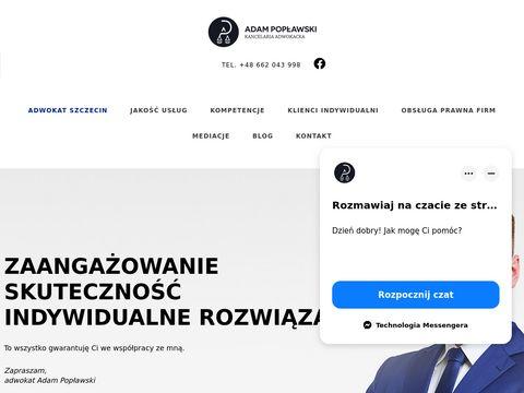 Poplawski.legal - adwokat Szczecin