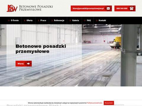 Posadzkiprzemyslowejsw.pl - posadzka betonowa
