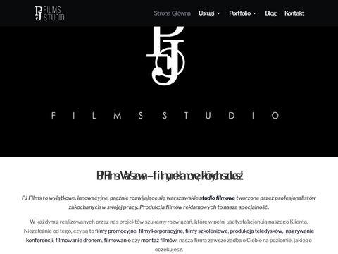 Pjfilmsstudio.pl produkcja filmowa w Warszawie