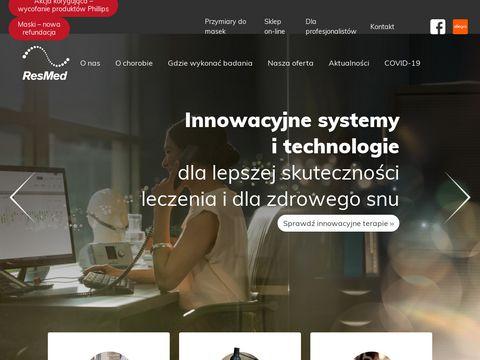 ResMed - sprzęt zapewniający zdrowy sen