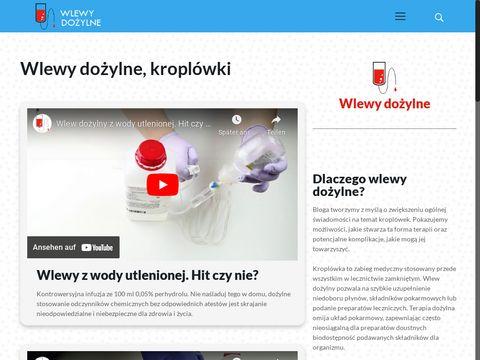 Wlewy-dożylne.pl kroplówki witaminowe