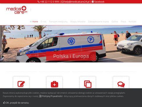 Przewóz chorych medicalcare24.pl