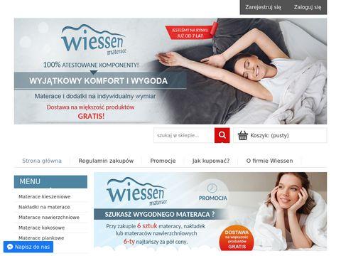 Materace na wymiar Wiessen