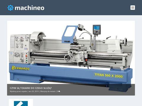 Machineo.pl - kompleksowe wyposażenie warsztatów