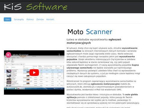 MotoScanner - giełda z samochodami