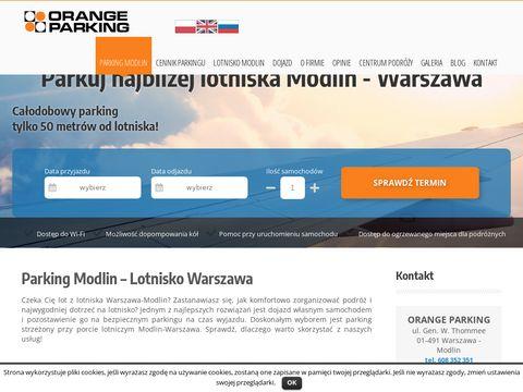 Orange Parking z ofertą dla klientów w Warszawie