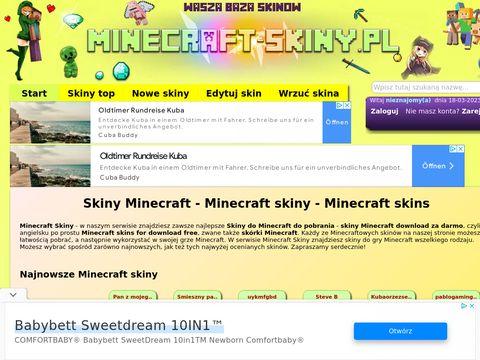 Darmowe skiny Minecraft