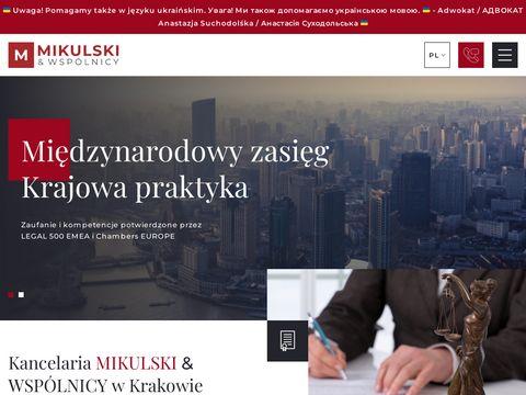 Mikulski.krakow.pl doradztwo prawne Kraków